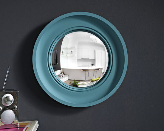 Cavetto Brights in teal - Our new 'Brights' range launched for spring 2012 - inject some high voltage colour into your interior!