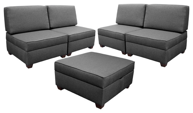 DuoBed Multifunctional Sectional modern sectional sofas orange county
