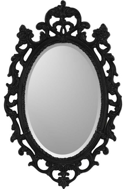Black Ornate - Mirrors Decorative - Modern - Wall Mirrors - by zopalo