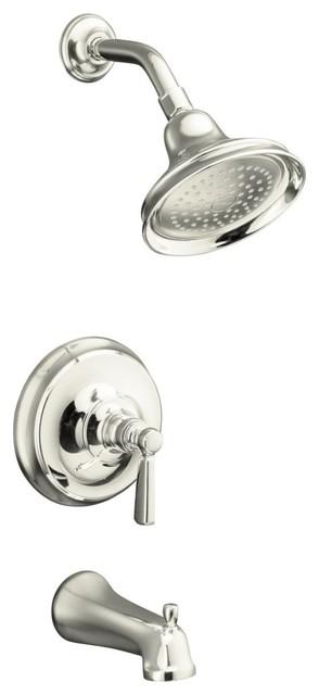 KOHLER Bancroft Rite-Temp Pressure-Balancing Bath and Shower Faucet Trim contemporary-bath-products