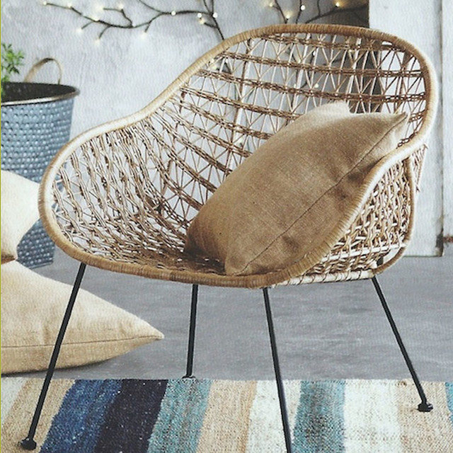Basket Weaving Supplies Atlanta : Comet basket chair eclectic armchairs and accent