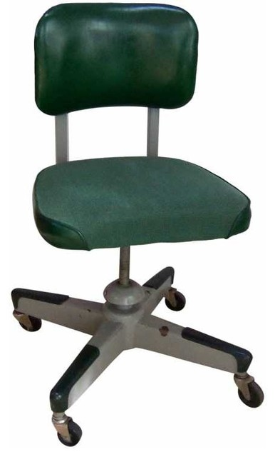 Awesome Mid Century Tanker Desk Chair Eclectic Office Chairs