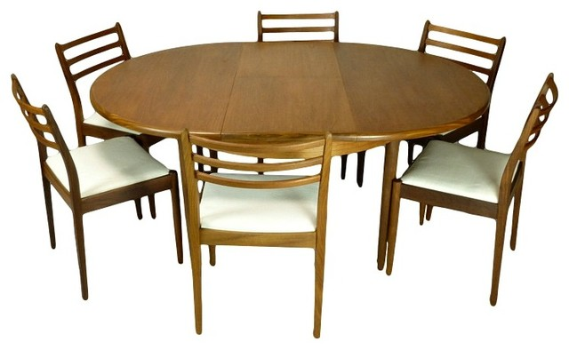 mid century modern teak dining set by g plan midcentury dining sets