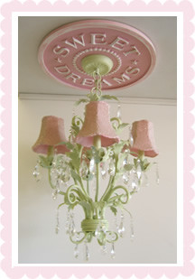 Marie Ricci Children's Ceiling Medalions traditional-kids-ceiling-lighting