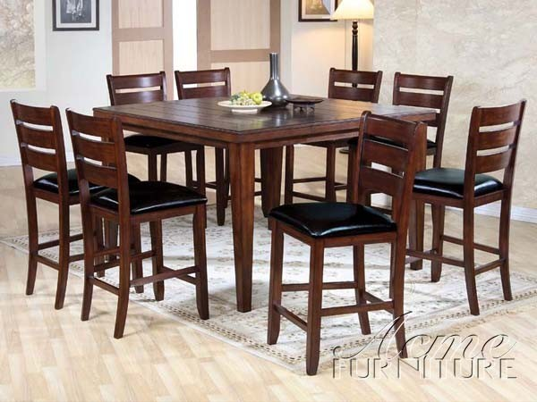 piece counter height dining set 0680 9set traditional dining