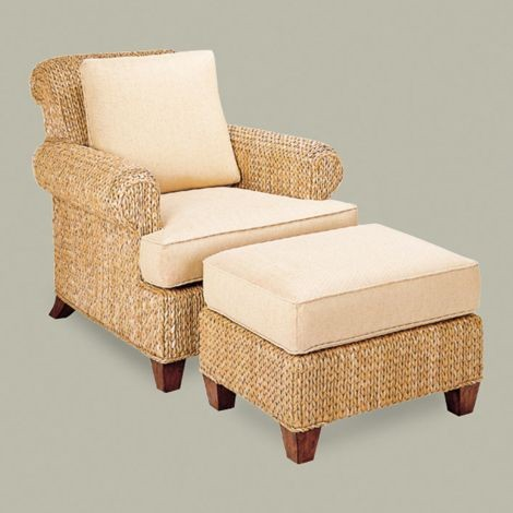 Catalina Chair Tropical Armchairs And Accent Chairs Other Metro By Ethan Allen