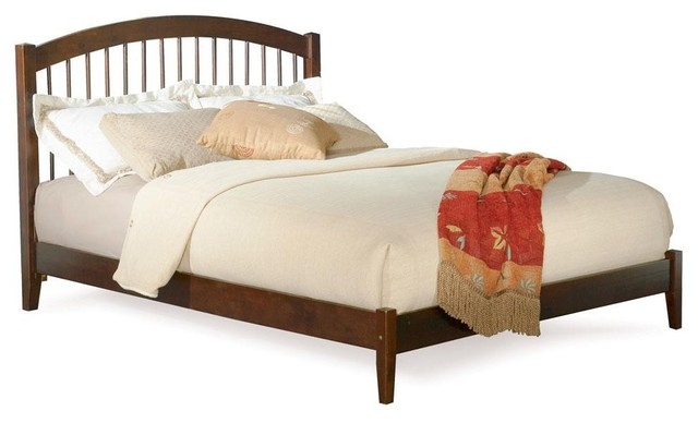 Atlantic Furniture - Windsor Bed With Open Footrail - ATL-WINDSOR-OF traditional-beds