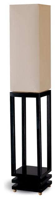 Beige Casual Floor Lamp modern-floor-lamps