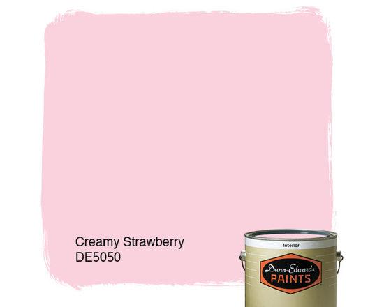 Dunn-Edwards Paints Creamy Strawberry DE5050 -
