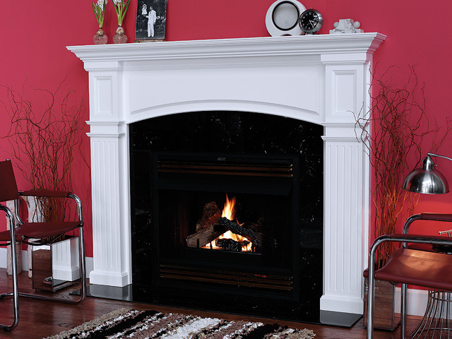 Monarch Wood Fireplace Mantel Traditional Indoor
