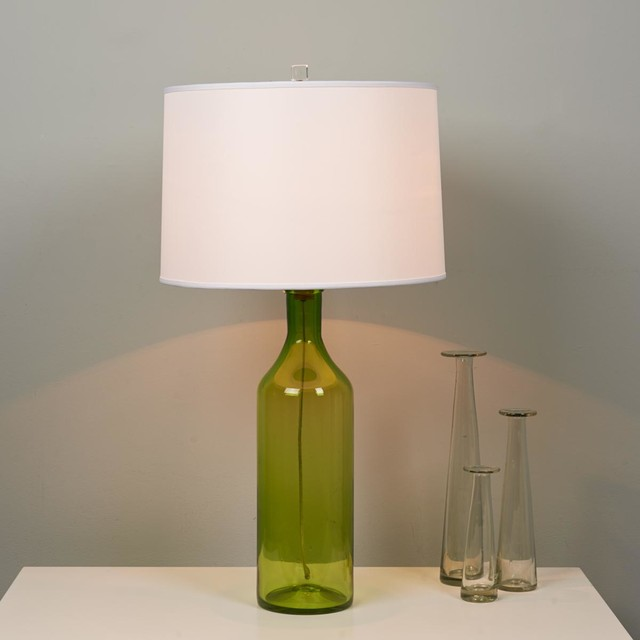 Wonderful Colorful Bottle Glass Table Lamp   Lamp Shades   By Shades Of Light