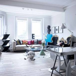 Jimmie Karlsson's London home (Feb LivingEtc Magazine) eclectic
