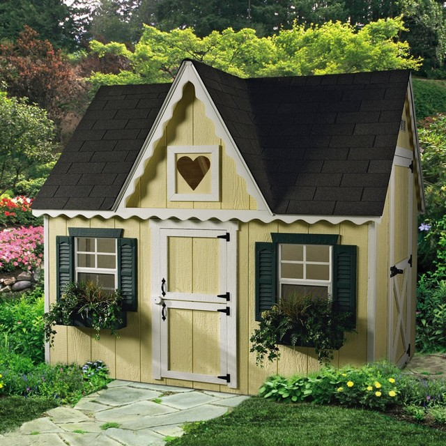Victorian Backyard Playhouse : All Products  Outdoor  Backyard Play  Outdoor Playsets