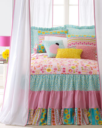"""Daisy Dance"" Bed Linens traditional-bedding"