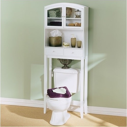 Awesome Oilrubbed Bronze Space Saver Bathroom Storage W Shelves  Shelving
