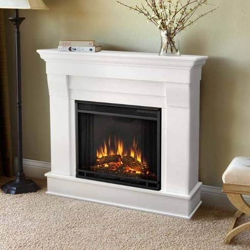 flame chateau electric fireplace white 5910e w indoor fireplaces