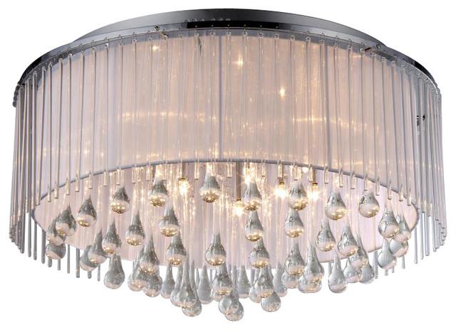 Demeter Chrome 8-light Chandelier modern-chandeliers