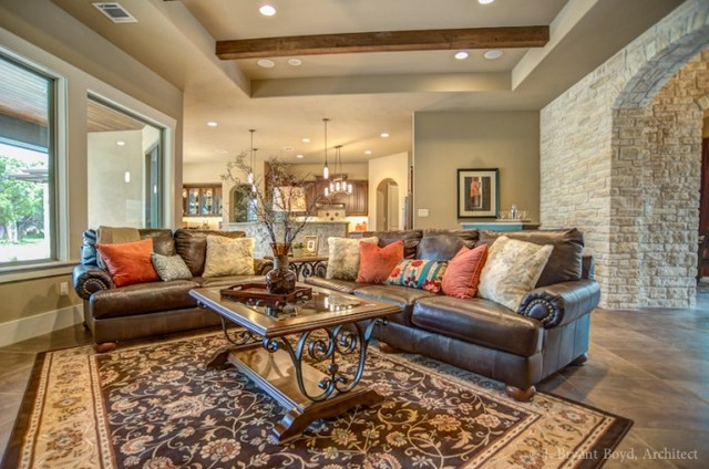 New Construction traditional-living-room
