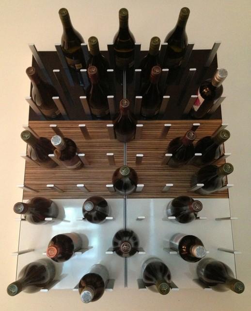Modern Wine Racks - Modern - Wine Racks - san francisco - by STACT Wine Displays Inc.