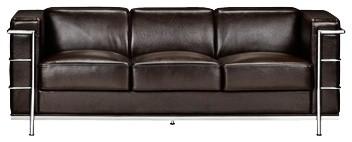 Zuo Fortress Collection Espresso Leather Sofa contemporary-sofas