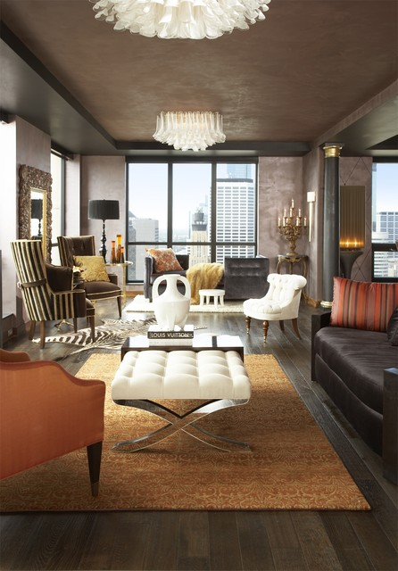 Carlyle Penthouse eclectic-living-room