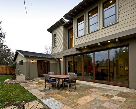 Quantum Windows & Doors | JCA Architects - Sunnyvale, CA | Lift & Slide Doors | Douglas Fir | Photography: Mark Pinkerton, Virtual Imaging
