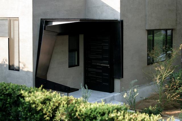 Entrance Canopy Modern Entry Los Angeles By Dom 230 N Ltd
