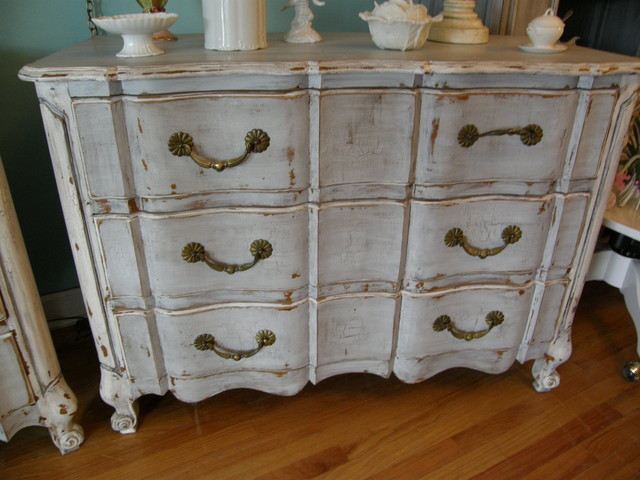 distressed antiques by Vintage Chic Furniture - Eclectic - Furniture - new york - by Donna ...