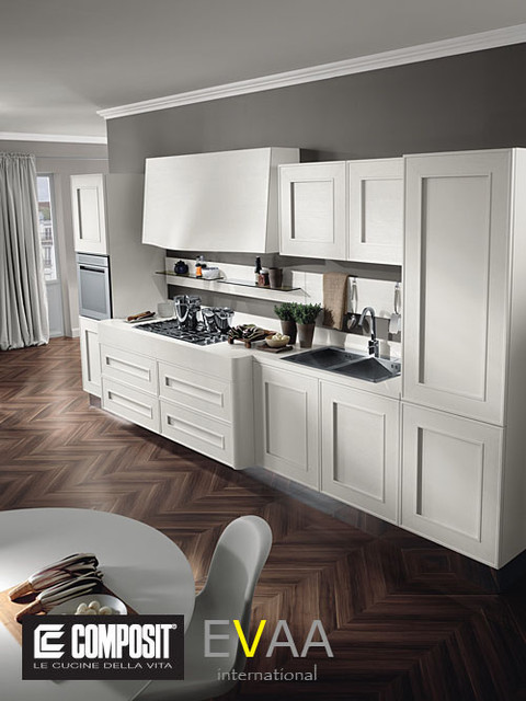 Italian Kitchens (by COMPOSIT CUCINE - Melograno) modern-kitchen-cabinetry