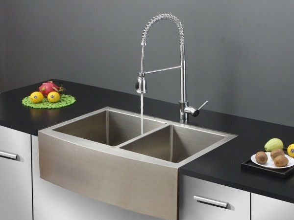 ... Kitchen Sink and Chrome Faucet Set - Modern - Kitchen Sinks - by