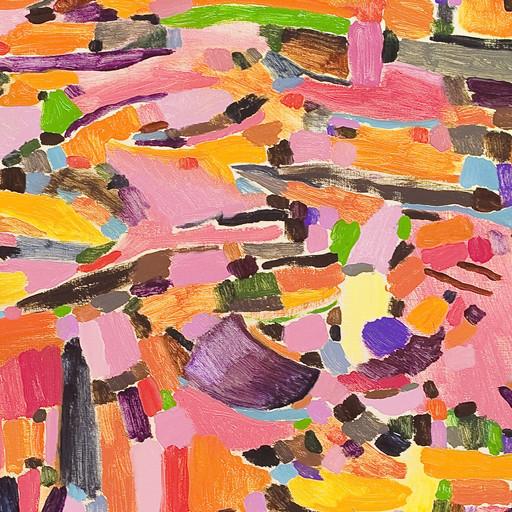 Pinke by Howard Fonda contemporary