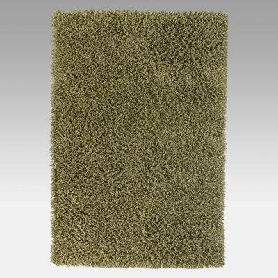 KAS Rugs Palm Springs II Shag Rug - Eucalyptus Green modern-rugs