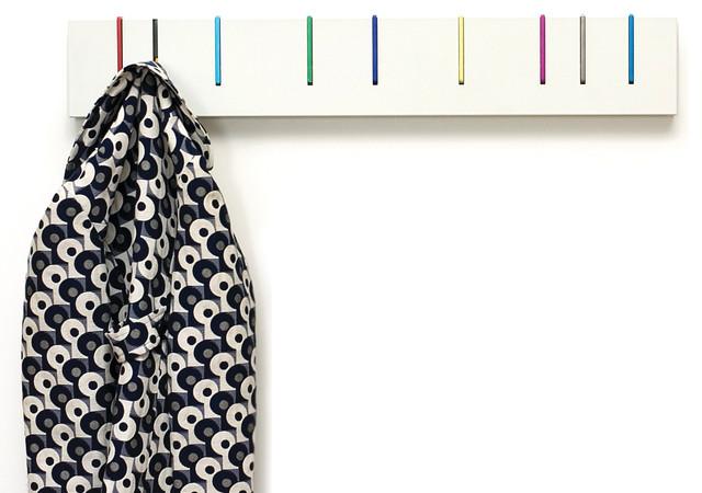 Symbol Coat Rack: Color modern-wall-hooks