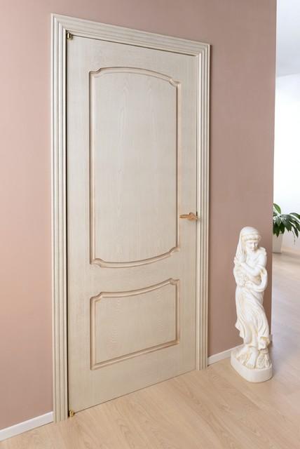 Napoleon Interior Door Golden Patina - Traditional - Interior Doors - new york - by Doors And Beyond