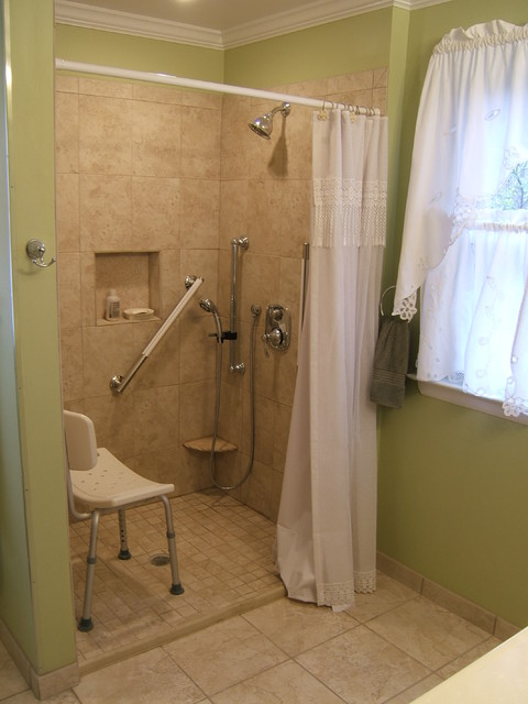 Handicap accessible bathroom waldorf for Handicapped bathroom design