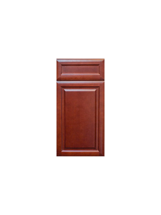 Assembled Bathroom Cabinets - Cherry Glaze Cabinet