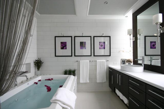 Modern luxe bathroom contemporary-bathroom