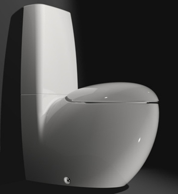 Laufen Toilet  Modern  Toilets  san francisco  by THE BATH + BEYOND -> Commode Tv But