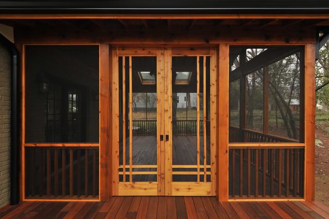 Craftsman Screen Porch Atlanta By