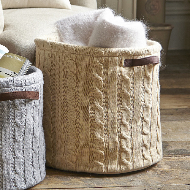 Bon Soft Woven Storage Baskets Designs