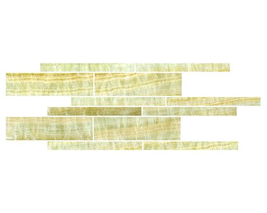 Honey Onyx Creme Mosaic -