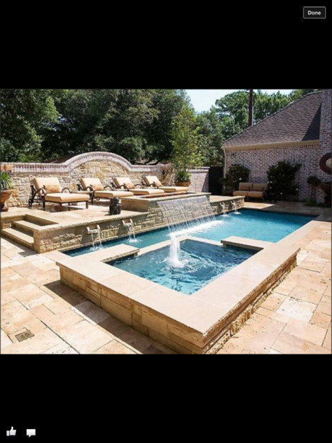 Peaceful and Pretty Pools traditional-pool