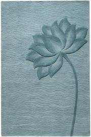 Flora blue rugs