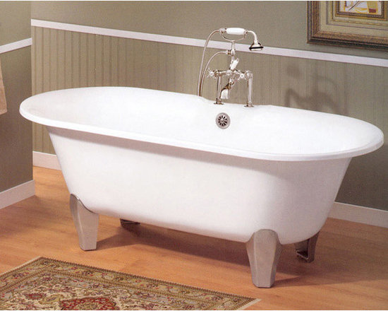 Cheviot Somerset Cast Iron Bath - 7-inch Rim Drillings