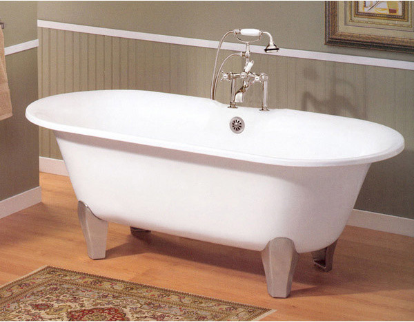 Cheviot Somerset Cast Iron Bath traditional-bathtubs