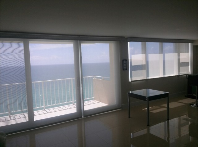 Motorized Solar Roller Shades Contemporary Roller Shades