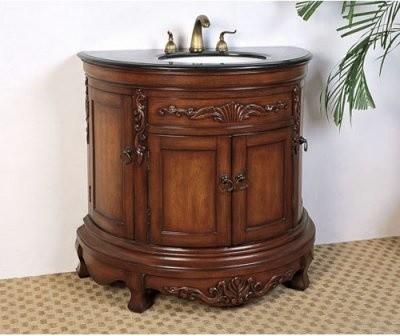 Kincaid Demilune Bathroom Vanity modern-bathroom-vanities-and-sink-consoles