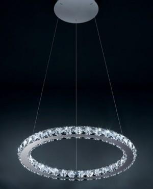 "Circle 18"" LED pendant light modern-pendant-lighting"
