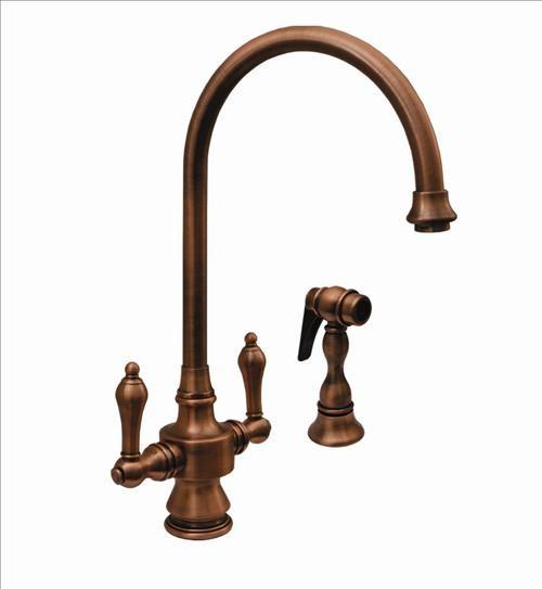 Whitehaus Whksdcr3-8101-Mb Dual Handle Faucet contemporary-bathroom-faucets