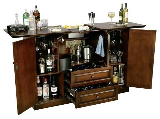 Howard Miller Devino Indoor Home Bar Traditional Indoor Pub And Bistro Tables By Hayneedle